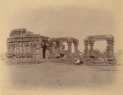 General view of the Ayeshvara Temple, Sinnar
